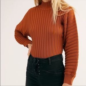 NWT Free People Mad Chill Turtleneck Sweater XL